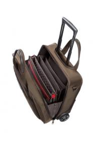 Samsonite PRO-DLX 4 TOPLOADER/WH.16.4'' barna görgős notebook táska (35V-013-008)