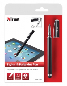 Trust 18316 fekete Stylus & Ballpoint Pen