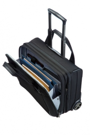 Samsonite ROLLING TOTE SPECTROLITE 17.3'' fekete gurulós notebook táska (80U-009-010)