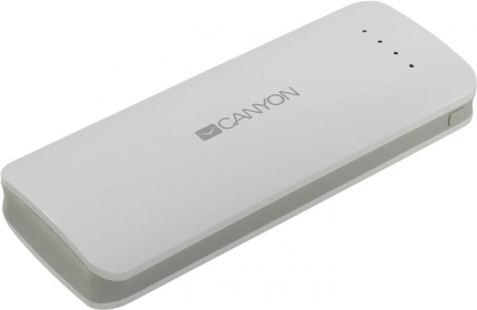 CANYON CNE-CPB156 15600mAh fehér PowerBank (CNE-CPB156W)