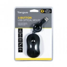 Targus AMU89EU  USB optikai fekete egér