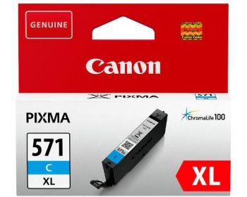 Canon CLI-571C XL ciánkék tintapatron (0332C001)