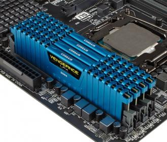 Corsair Vengeance LPX 16GB (4x4GB) 2133MHz DDR4 Kék (CMK16GX4M4A2133C13B)