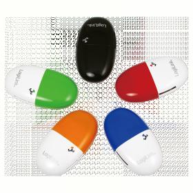 LogiLink ''Smile'' USB 2.0 Multi kártyaolvasó, kék (CR0028)