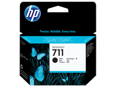 HP No 711 CZ133A fekete tintapatron