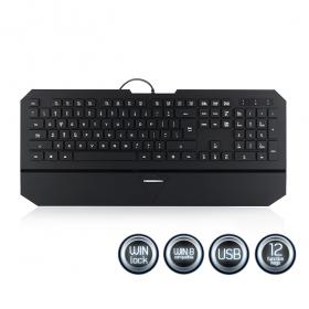 MODECOM MC-800W USB lengyel billentyűzet (K-MC-800W-100-U)