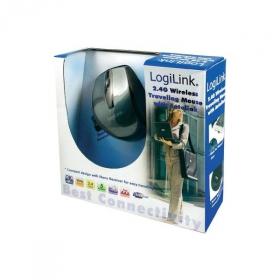 Logilink ID0014 wireless optikai fekete-szürke egér