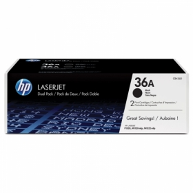 HP 36A fekete 2 db-os toner (CB436AD)