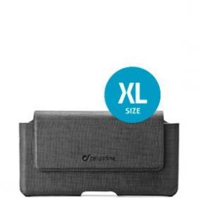 Cellularline ACTIESSENTIAL ''XL'' fekete övre rögzíthető telefontok (ACTIESSENTIALXL)