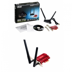 Asus PCE-AC56 AC1300 PCI-E wireless wifi adapter (  90IG00K0-BM0000)
