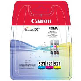 Canon CLI-521  C-M-Y multipack tintapatron (2934B010)