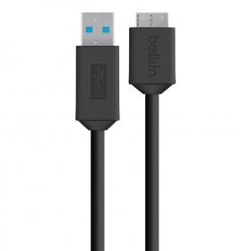 Belkin F8M864BT03-BLK fekete-zöld USB 3.0 autós töltő