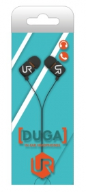 Trust Urban Duga In-Ear mikrofonos fekete headset (19878)