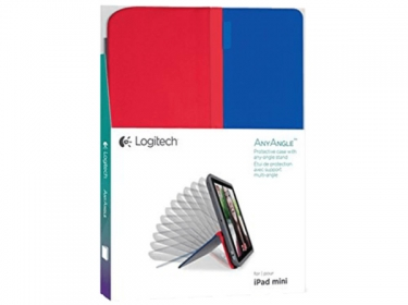 Logitech ANY ANGLE  iPad Mini 1/2/3 kék-piros tablet tok (939-001159)