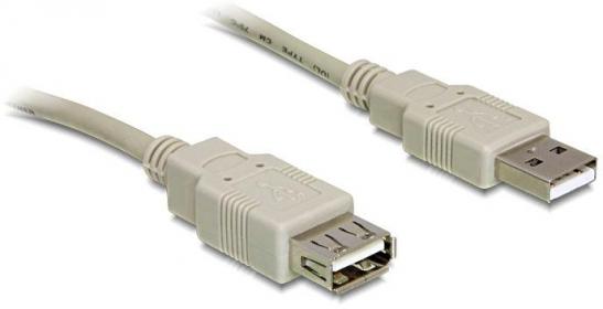 Delock USB 2.0 hosszabbító kábel A/A (82239)