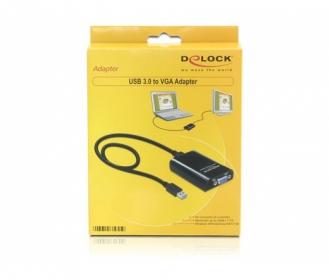Delock USB 3.0 - VGA Adapter (61955)