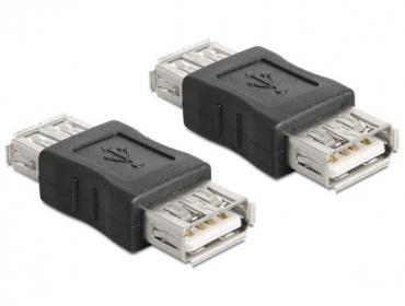DELOCK USB Toldó Fekete (65012)