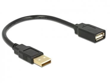 Delock USB 2.0 A-A apa-anya hosszabbítókábel (82457)