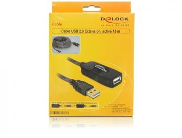 Delock 82689 USB 2.0-ás hosszabbító kábel