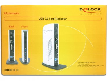 Delock USB 3.0 Port Replikátor (87568)