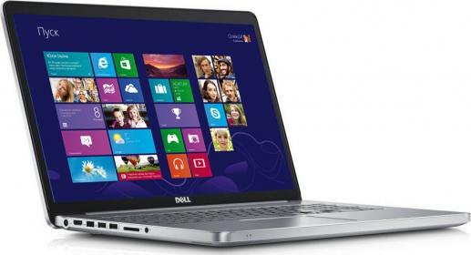 Dell Inspiron 17 7746 Ezüst Notebook (DI7746N2-5200-8GHH1TW81FT4BLSI-11)