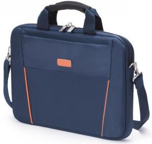 Dicota Slim Case Base 15.6'' kék-narancssárga notebook táska (D30999)