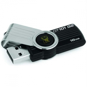 Kingston DataTraveler 16GB Fekete Pendrive (DT101G2/16GB)