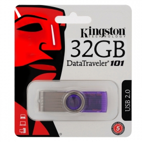Kingston DataTraveler 32 GB Lila Pendrive (DT101G2/32GB)