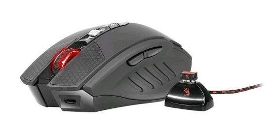 A4Tech Bloody  RT7 Terminator wireless optikai fekete gamer egér (A4TMYS44505)