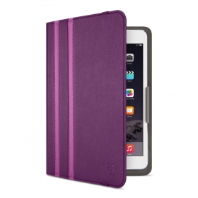 Belkin Twin Stripe Cover lila iPad Mini tok (F7N324BTC01)