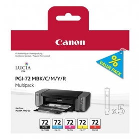 Canon PGI-72 MBK/C/M/Y/R multipack tintapatron (6402B009)