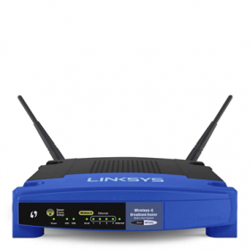Linksys WRT54GL-EU 54Mbps wireless wifi router