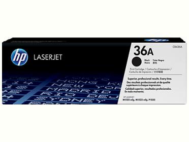 HP 36A  fekete toner (CB436A)