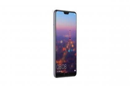 Huawei P20 128 GB DUAL SIM Holdfény kék