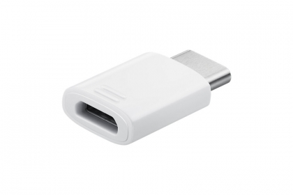 SAMSUNG USB 2.0 Type C Micro USB Átalakító Fehér 3cm (EE-GN930BWEGWW)