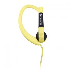 Canyon CNS-SEP1Y mikrofonos sárga sport headset