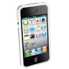 Cellularline Bumper iPhone 4 fehér telefontok (BUMPERIPHONE4W)