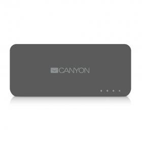 CANYON CNE-CPB44 4400 mAh sötétszürke PowerBank (CNE-CPB44DG)
