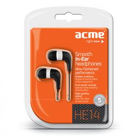 ACME HE14 fekete-fehér fülhallgató (ACFHHE14)
