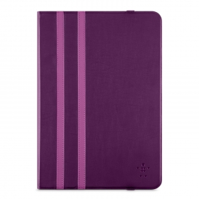Belkin Uni Twin Stripe Trifold Cover iPad Air lila tablet tok (F7N320BTC01)