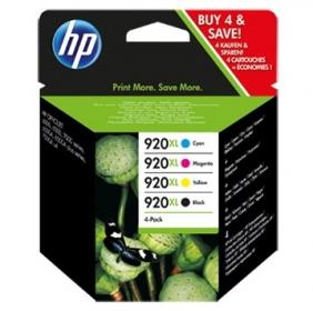 HP 920XL fekete/ciánkék/bíbor/sárga multipack tintapatron (C2N92AE)