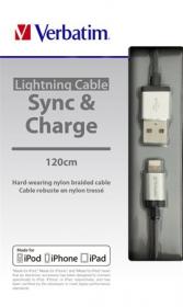 Verbatim KV48851 ezüst USB kábel
