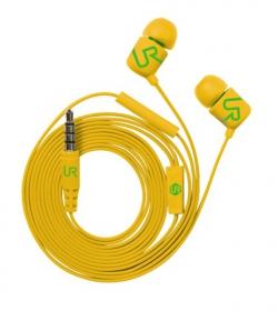 Trust Urban Duga In-Ear mikrofonos sárga headset (19879)
