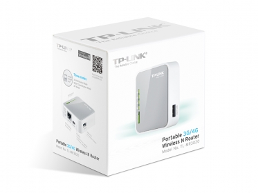 TP-LINK  TL-MR3020 3G/4G wireless N-es router