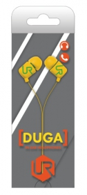 Trust Urban Duga In-Ear mikrofonos sárga headset (19879)