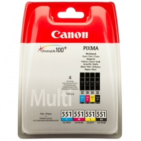 Canon CLI-551C-M-Y-Bk multipack tintapatron (6509B009)
