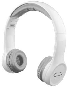 ESPERANZA Összehajtható sztereó fejhallgató, fehér (EH140W)