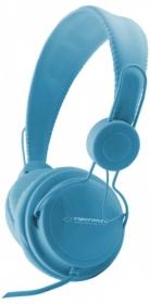 ESPERANZA Sztereó fejhallgató, kék (EH148B)