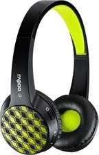 RAPOO S100 bluetooth mikrofonos fekete-zöld headset (155495)