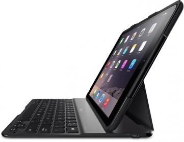 Belkin F5L178DEBLK fekete iPad Air 2 állvány és billentyűzet